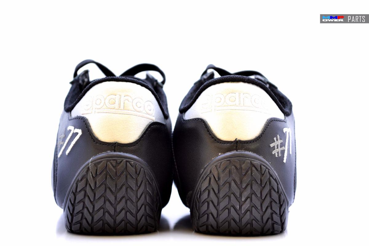 SPARCO ESSE Deri Ayakkabı (Siyah/Gri) 40