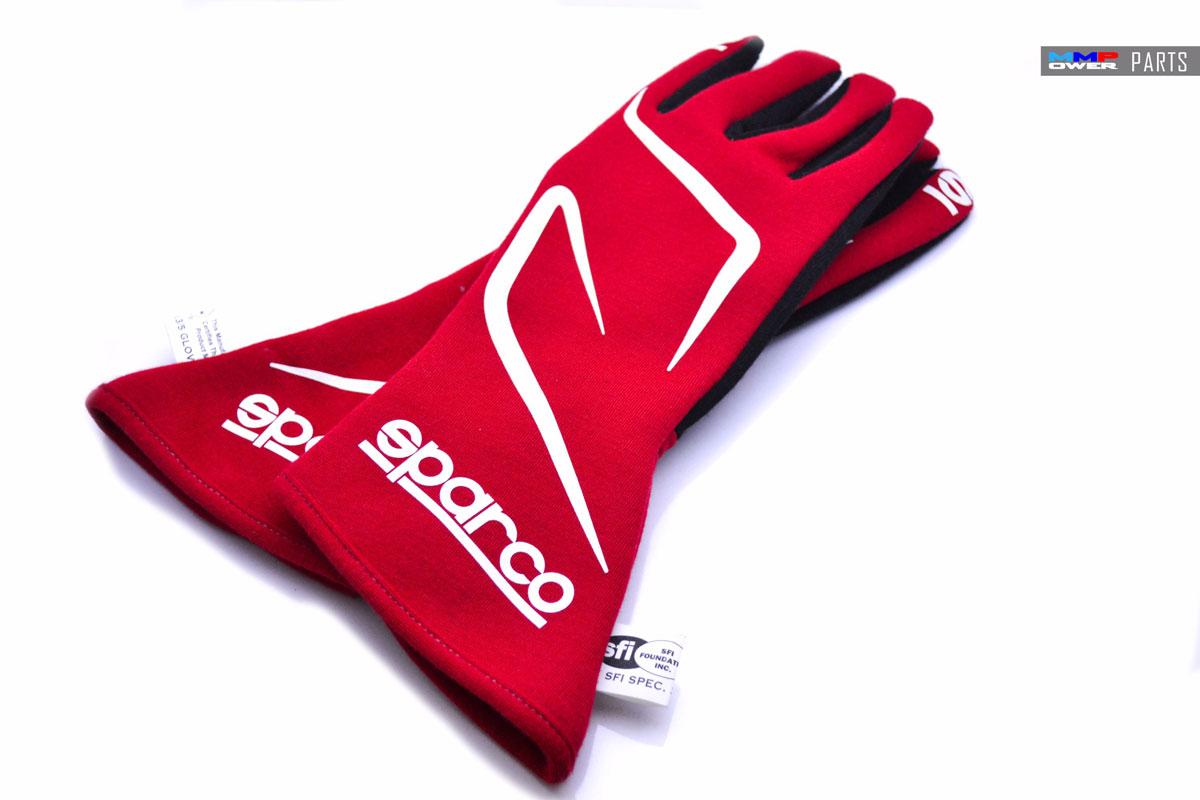 SPARCO FIA Onaylı Yarış Eldiveni Land RG-3.1 Kırmızı