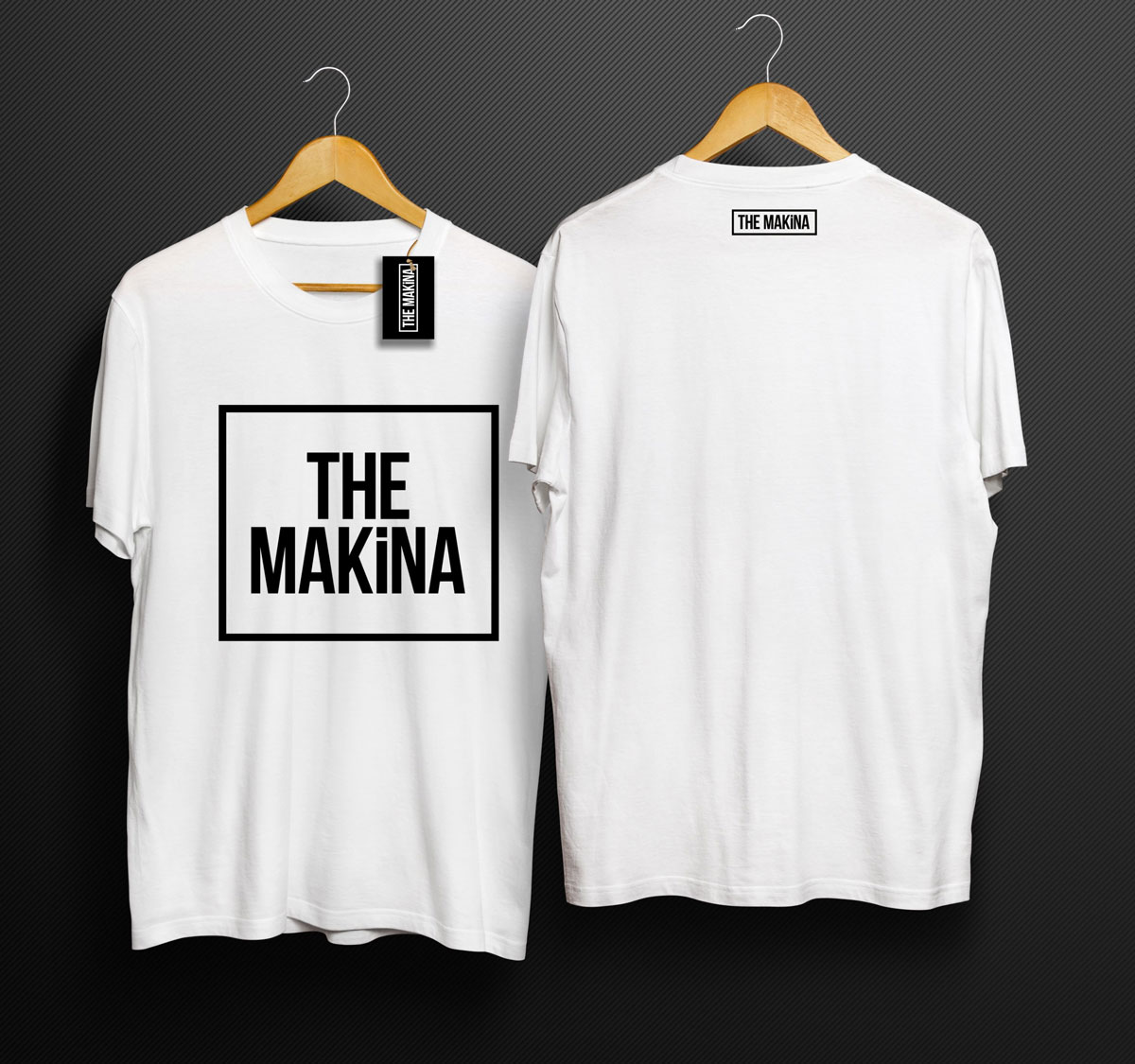 MMPower THE MAKINA Karekter TShirt Beyaz