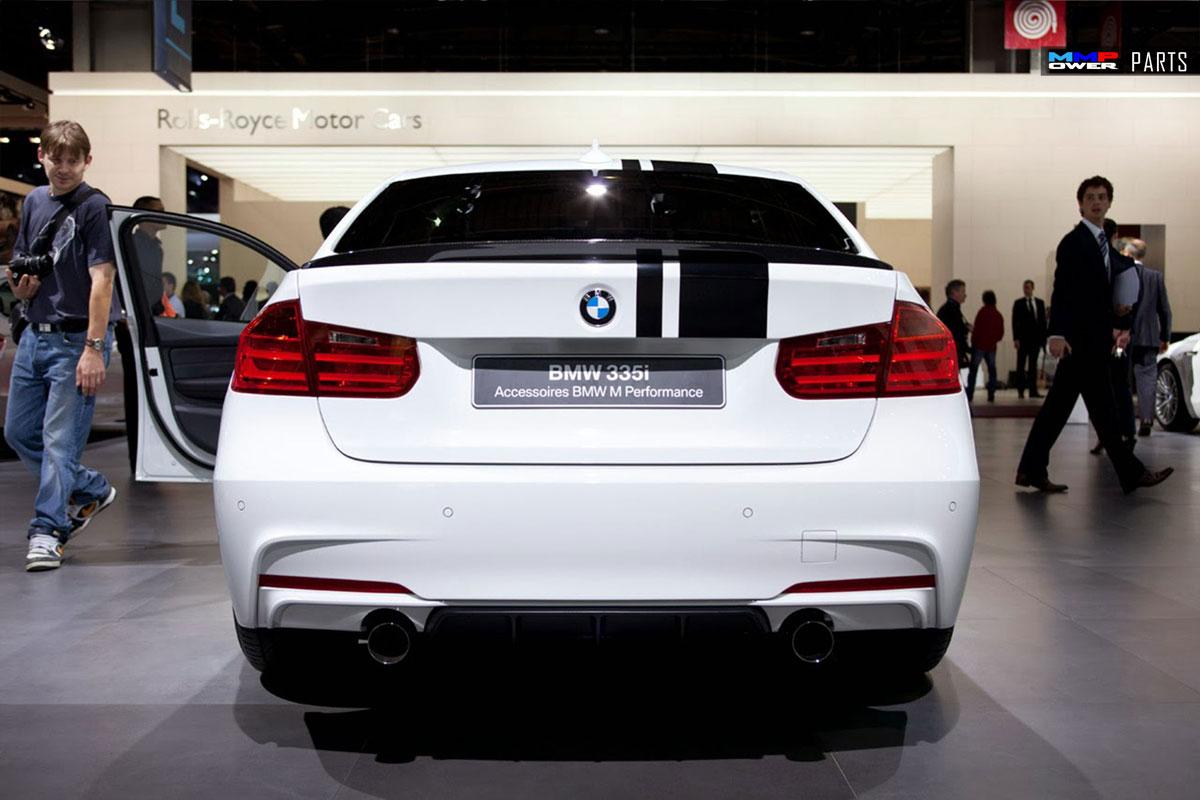 BMW F30 M Performance Arka Difüzör