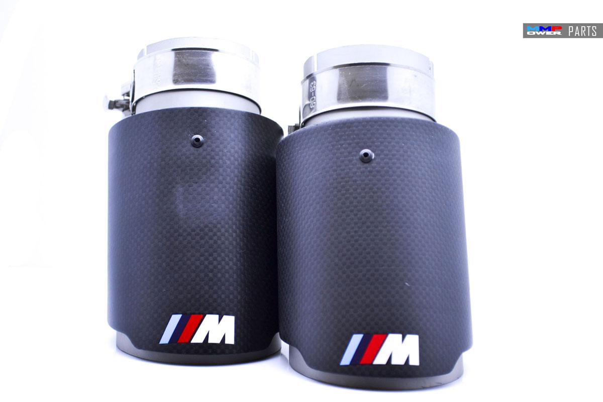 BMW Motorsport ///M Logolu 89mm Karbon Egzoz Ucu