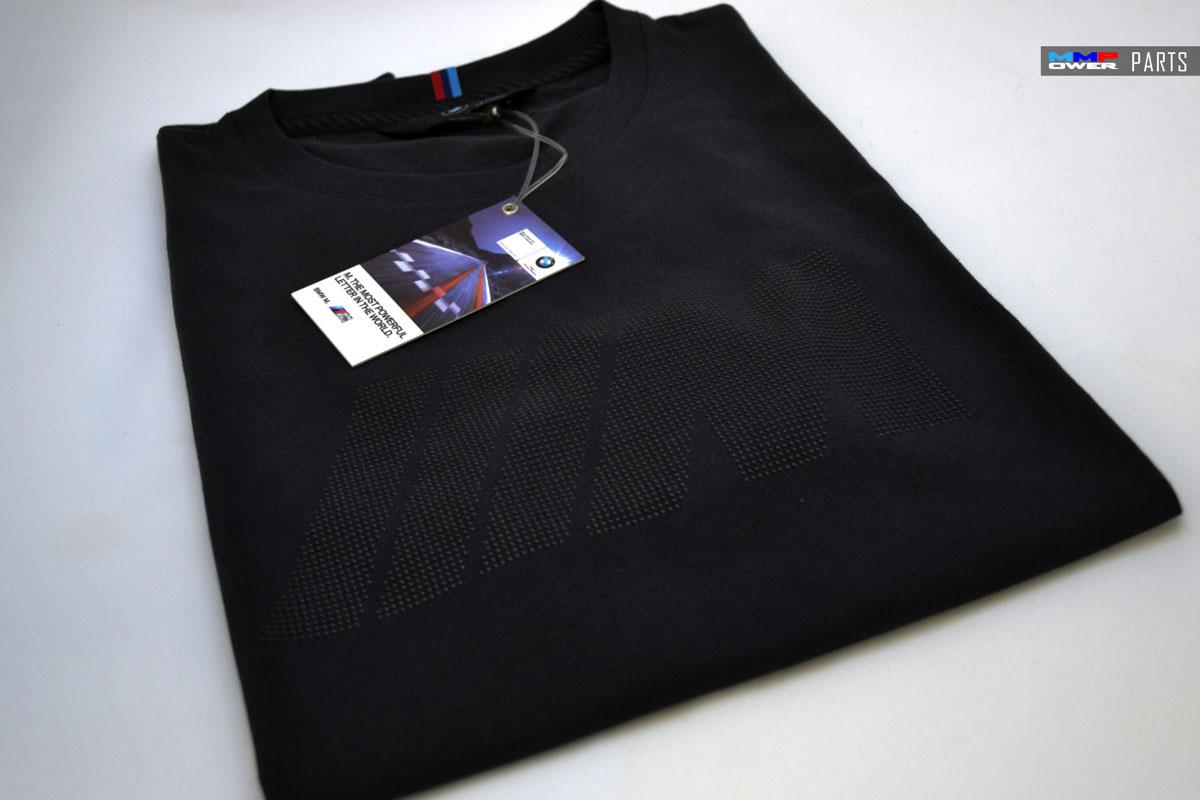 BMW M Logolu Antrasit T-Shirt