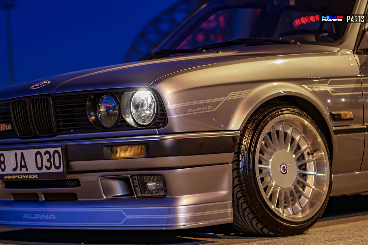 BMW E30 LCI ALPINA Şeritler Set
