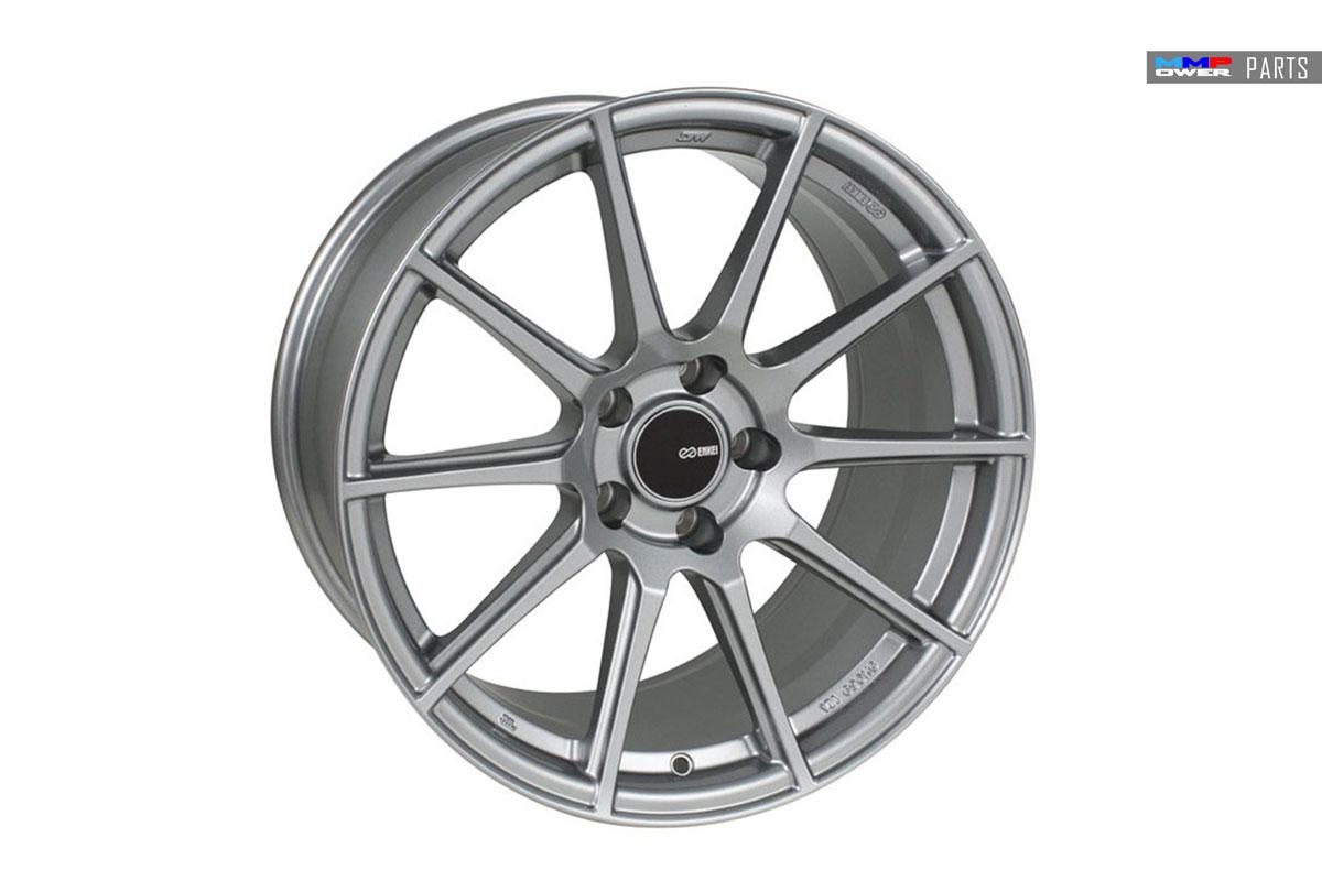 ENKEI TS10 8x18 5x112 Silver Jant Takımı