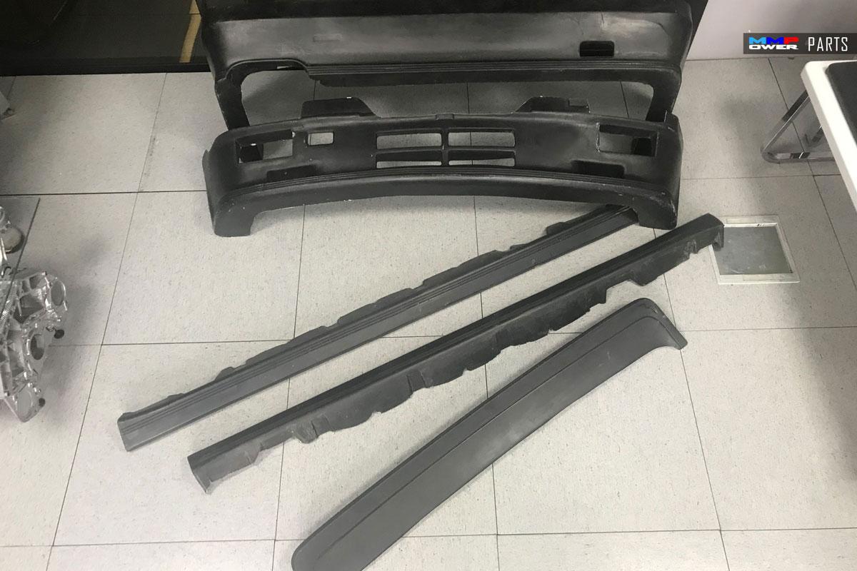 BMW E30 için M Teknik 1 Komple Set (FiberGlass)