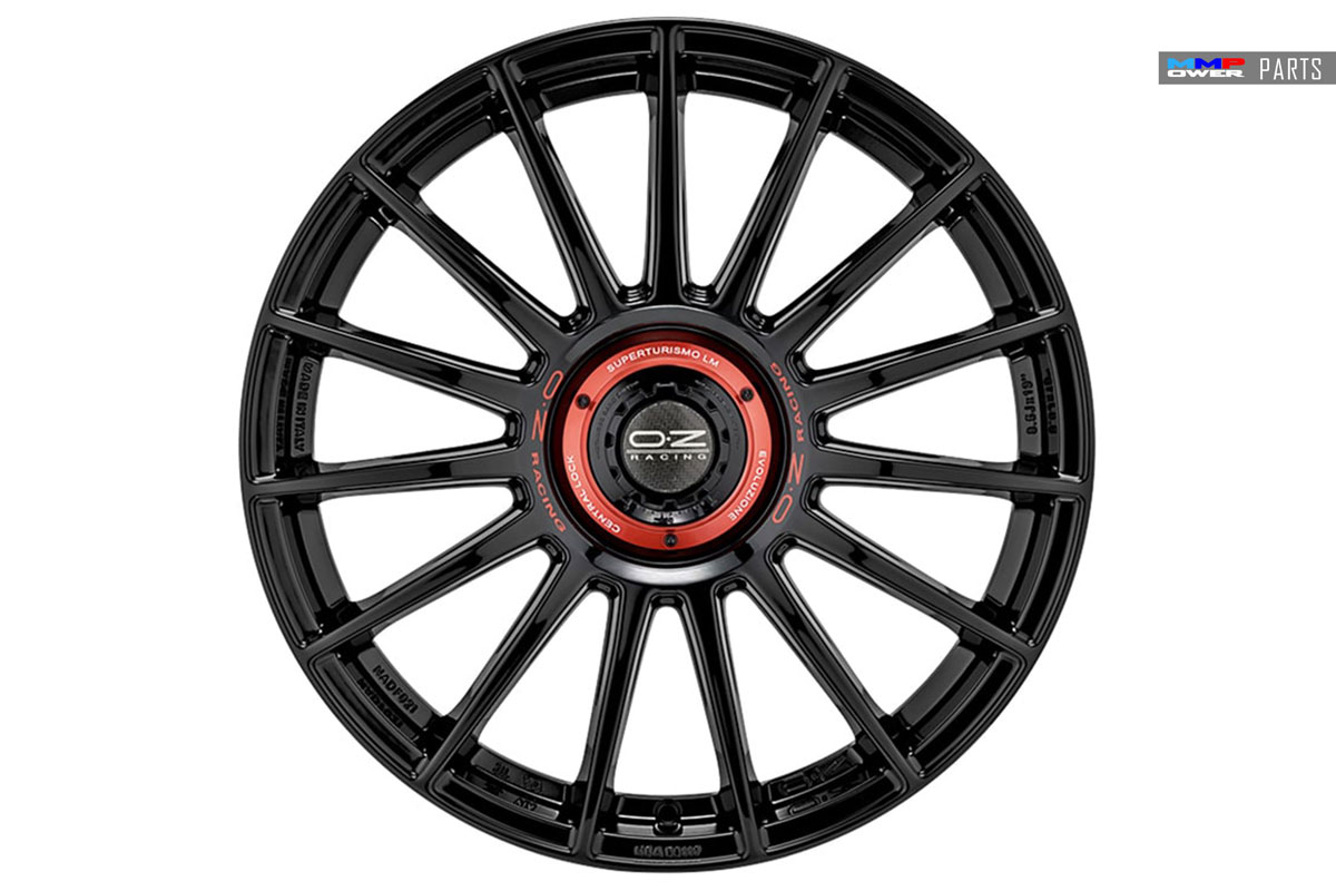 OZ RACING SUPERTURISMO EVOLUZIONE 5X112 8.5X19 ET:44 GLOSS BLACK