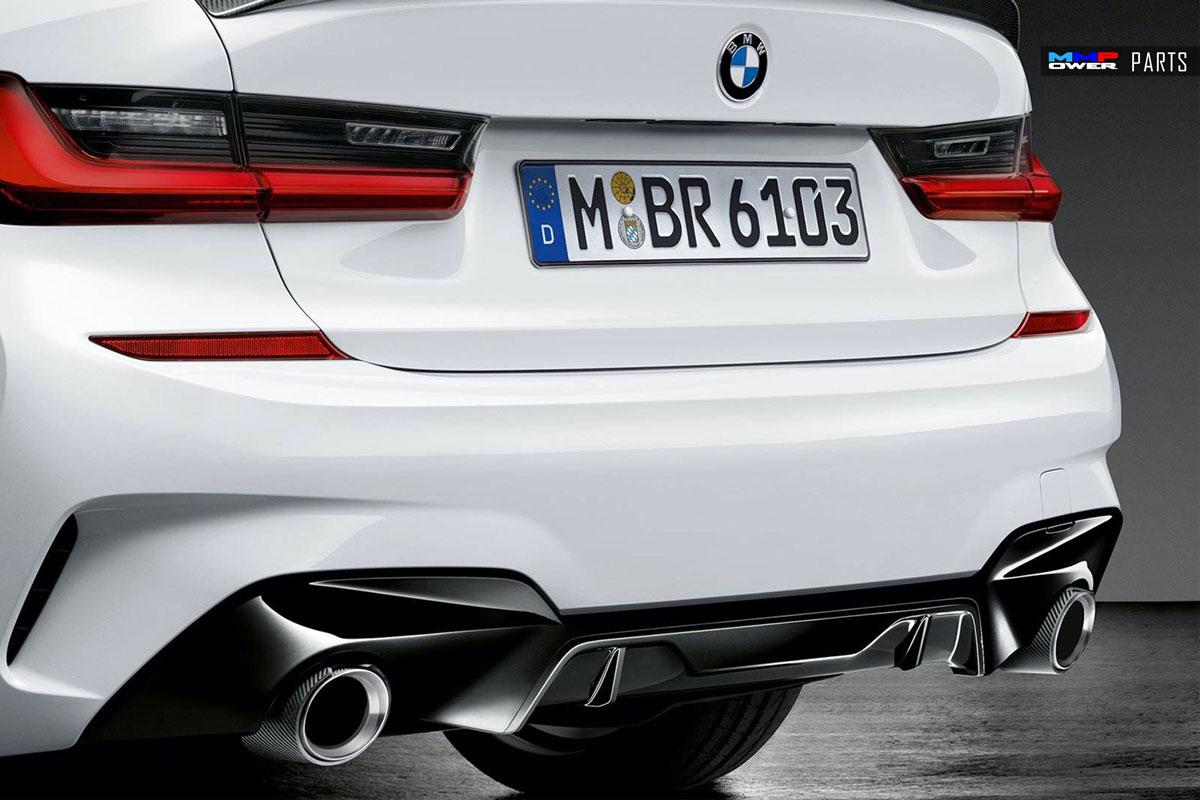 BMW G20 3Serisi MPerformance Arka Difüzör