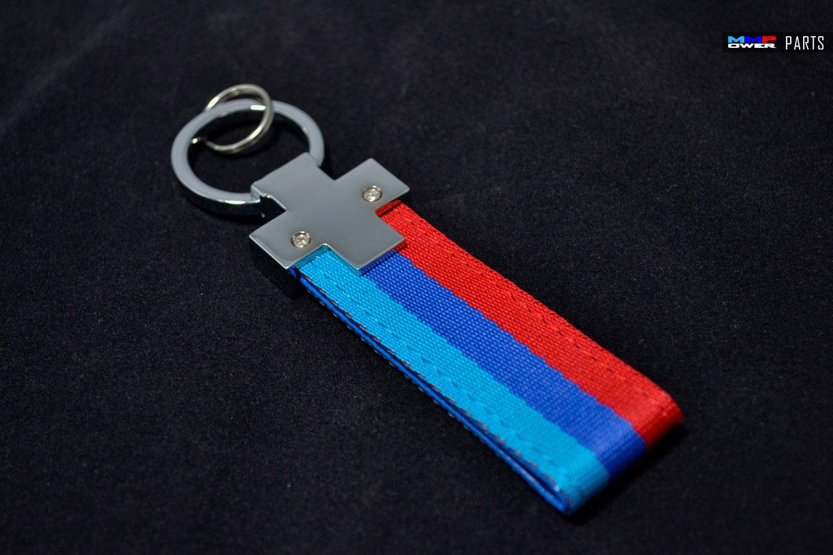 M Renklerinde Kayış Anahtarlık