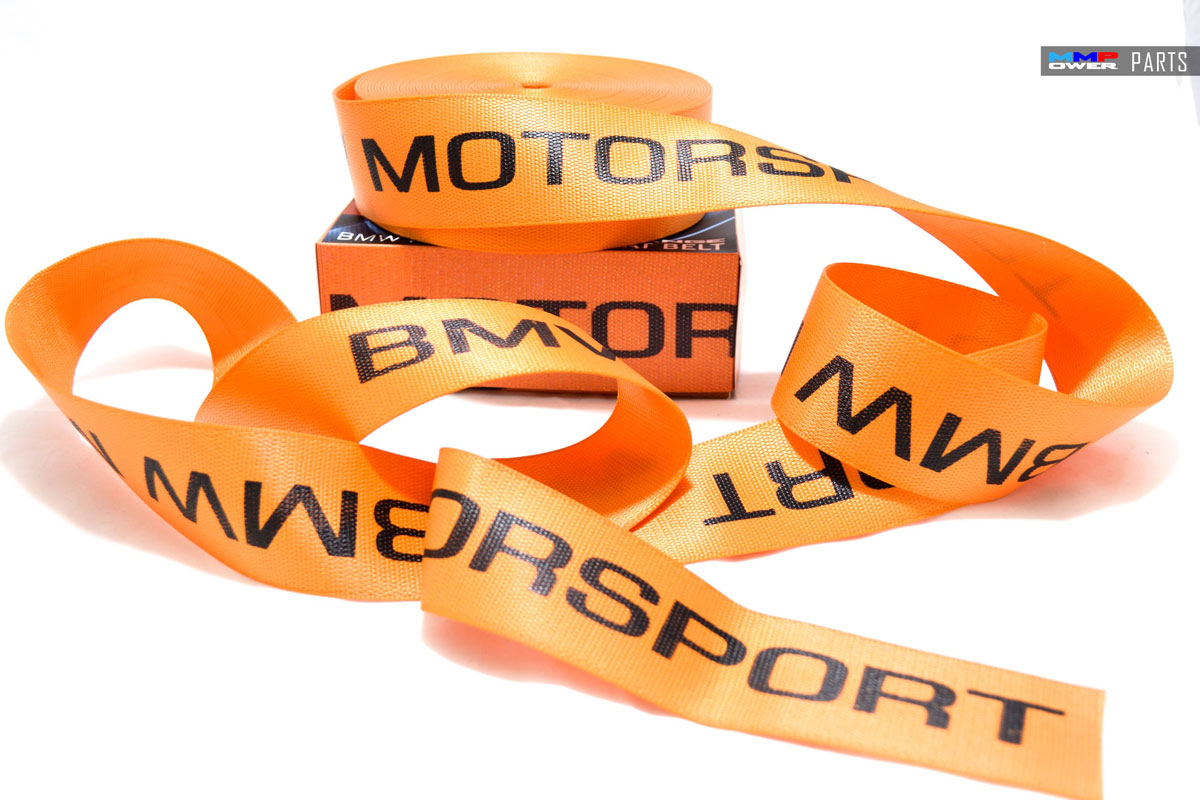 BMW MOTORSPORT EMNİYET KEMERİ ORANGE