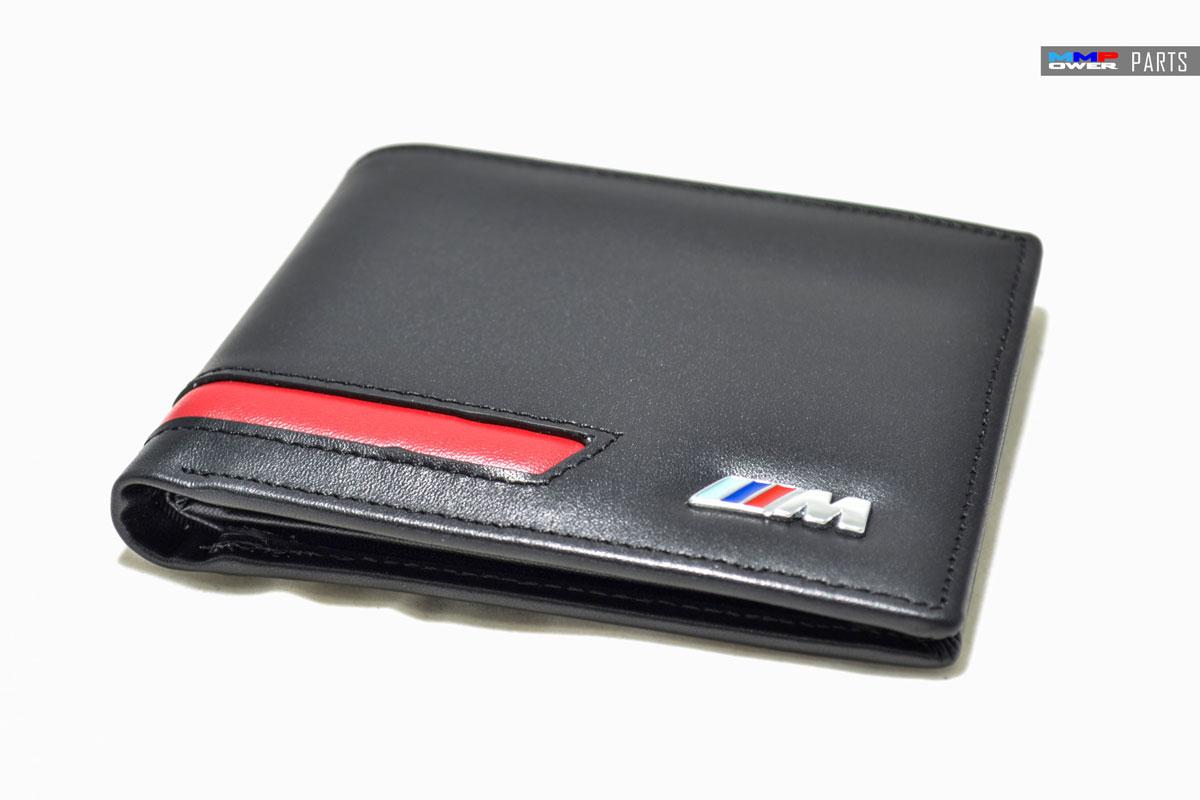 M Logolu Deri Cüzdan
