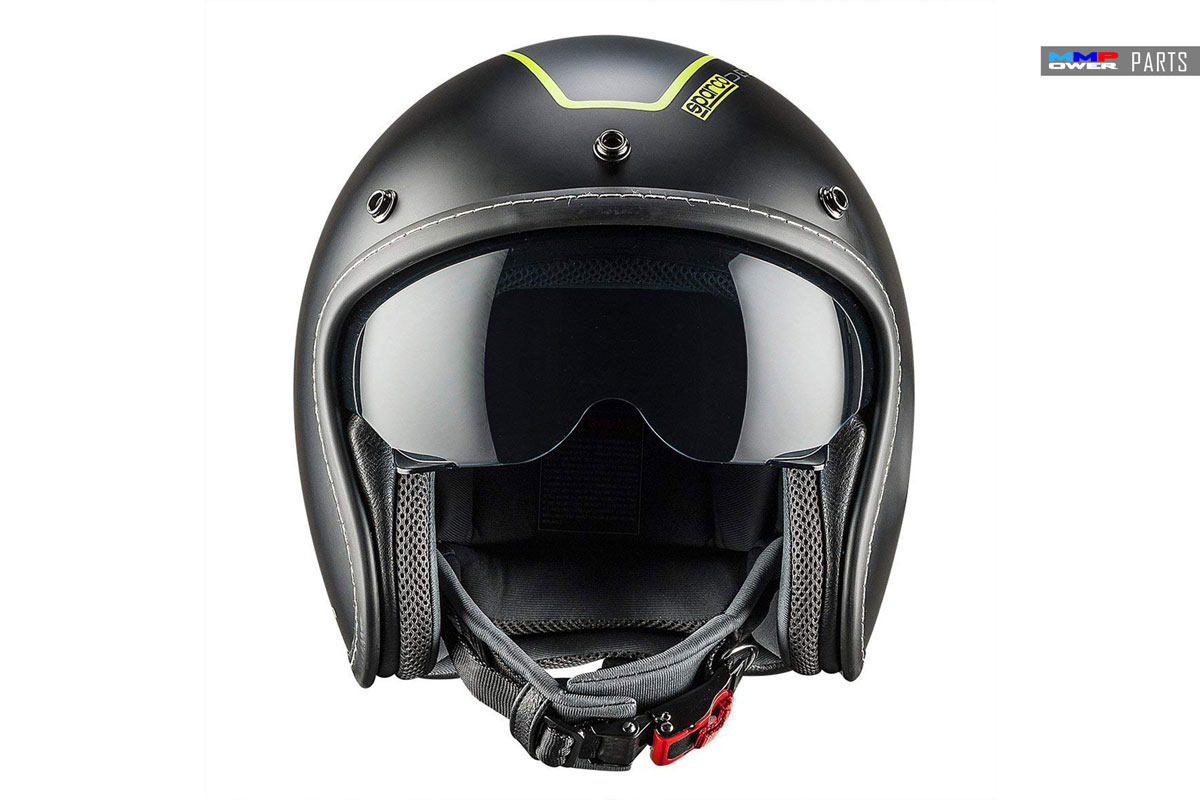 SPARCO CAFE RACER ABS KASK, SİYAH