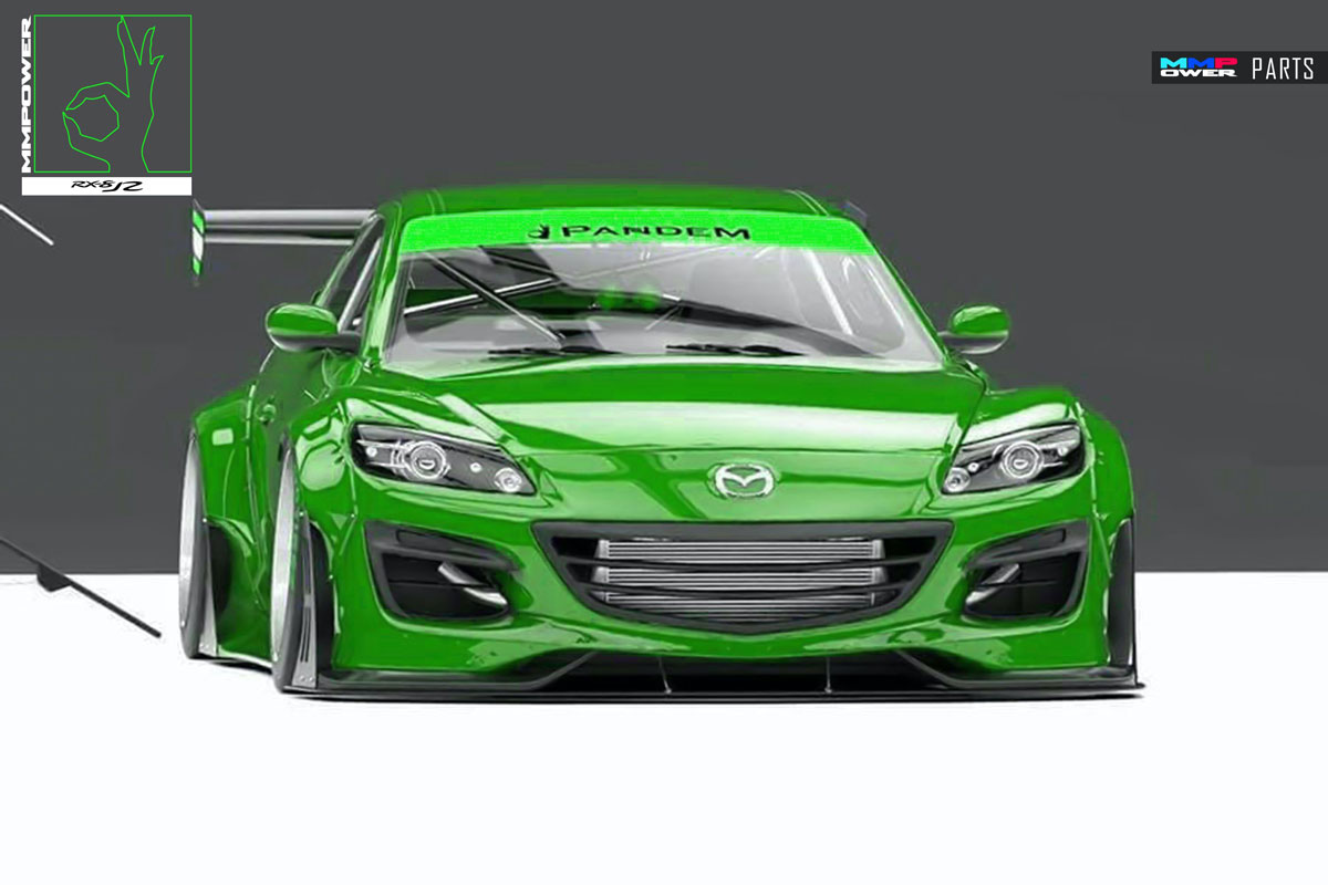 PANDEM Mazda RX8 Wide Body Full Kit (Rocked Bunny)