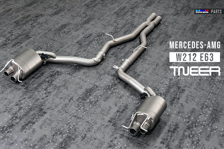 TNEER W212 E63 AMG M157 CATBACK EGZOZ SİSTEMİ