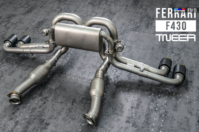 TNEER FERRARİ F430 / SPIDER CATBACK EGZOZ SİSTEMİ