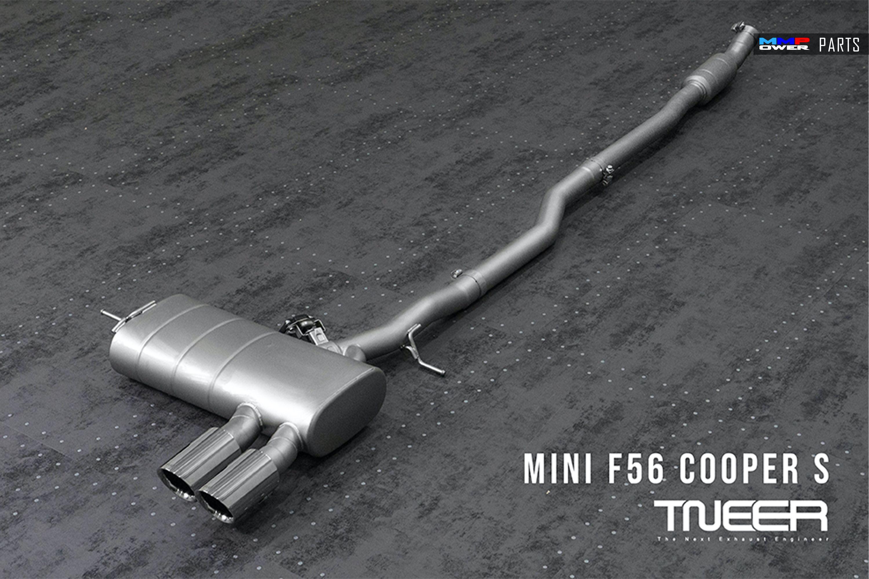 TNEER MINI COOPER S F56  CATBACK EGZOZ SİSTEMİ