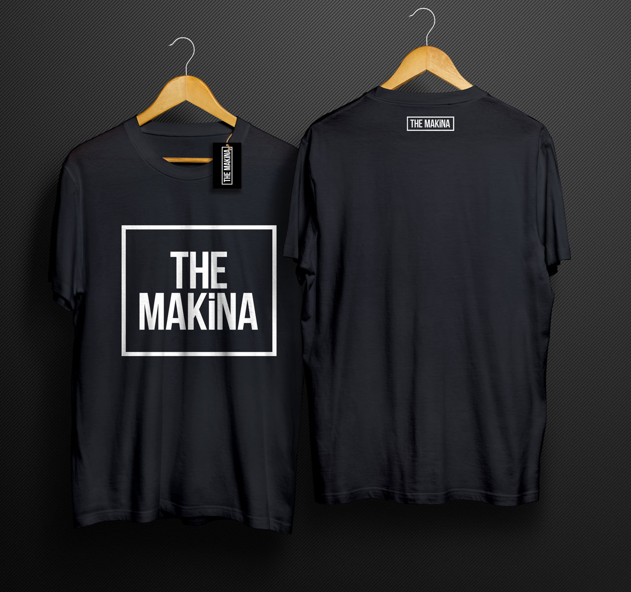 MMPower THE MAKINA Karekter TShirt Siyah