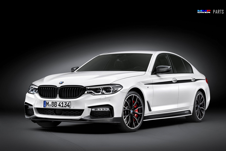BMW G30 ///M Performance Type 2 Arka Difüzör, Yan Marşpiyel ve Sticker, Ön Lip Komple Takım