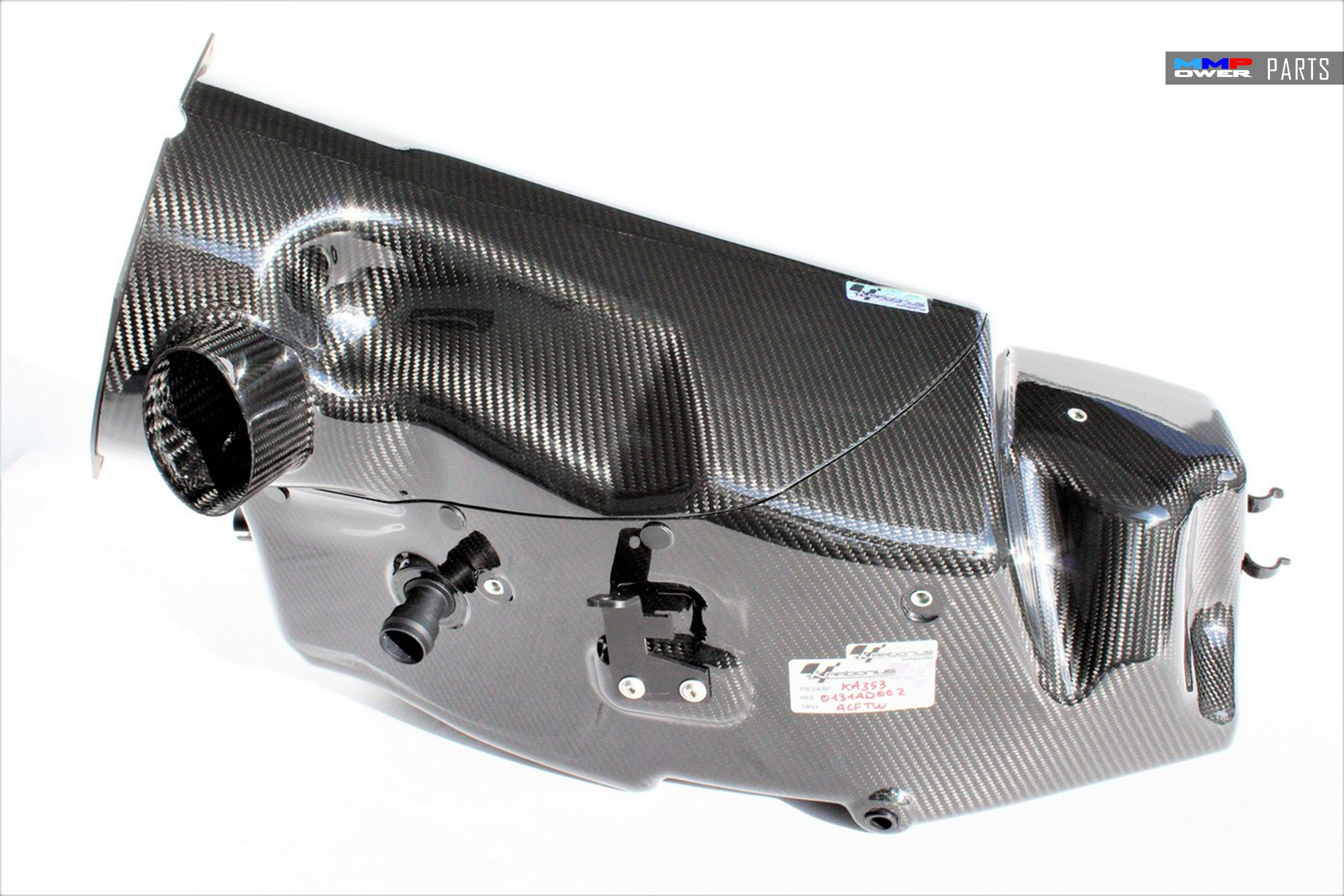 BMW M3 E46 CSL STYLE AIRBOX (FULLCARBON)